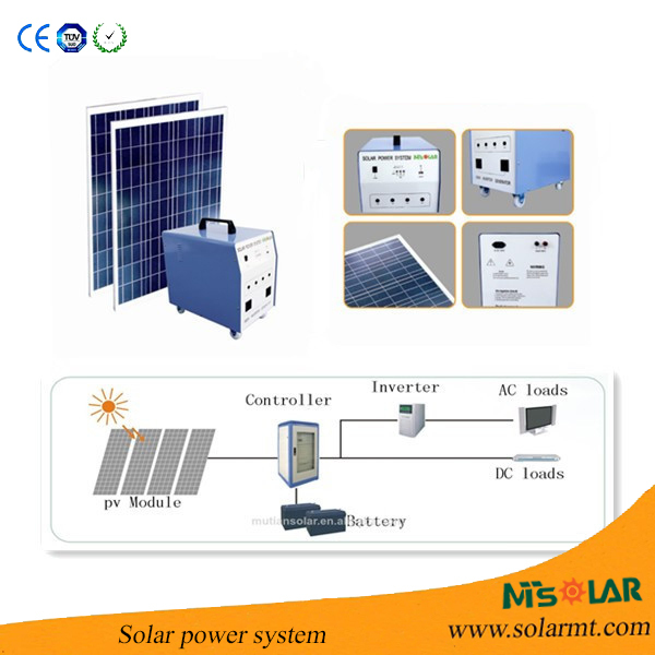 2014 HOT Sale green energy solar power generator kit for home use 20W/60W/120W/500W/1000W/1500W/2000W See larger image