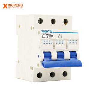 performance impact resistance house using mcb 54mm 3p new mold forming 1-63A miniature circuit breaker housing