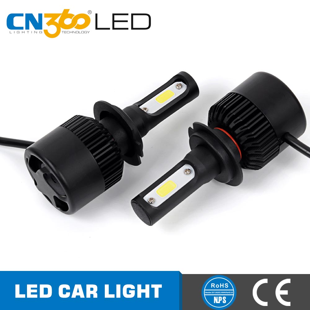 Hot selling 35w 8000lm motorcycle h7 led kit low beam headlight extremely white light h7