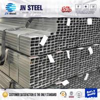 q235 steel specification SS400 HDG Carbon Pipe ASTM A500 Rectangular Tube