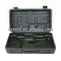 Durable plastic hard equipment cases