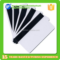 Blank White 3-Track High Coercivity 2750oe Magnetic Stripe MIFARE(R) DESFire(R) EV1 4K cards
