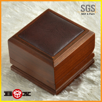 cube cufflink small wooden boxes