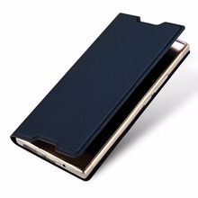DUX DUCIS Skin Pro Series Leather Case for Sony Xperia L1 with Stand