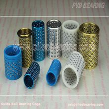 Brass Ball Retainer Sliding Bushing,FZP Lin Inexpensive Ball Bearings,POM Plastic Ball Bearing Retainer