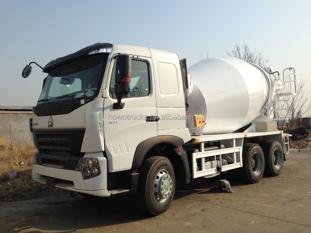 Used howo concrete mixer for sale, used 8 cubic meters concrete mixer truck, hot!!!