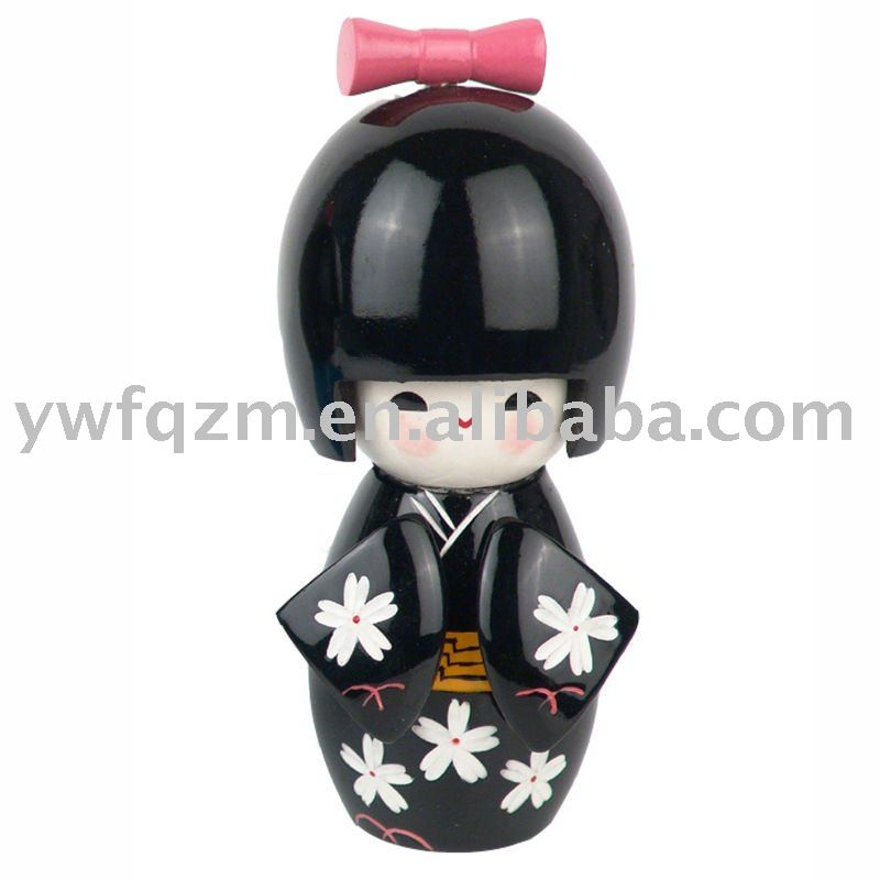 Wooden Crafts Handmade Doll of very Yong Models