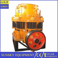 hydraulic stone cone crusher , industrial rock crusher machine