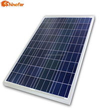 Shinefar TUV certificated Polycrystalline 90 100 110 watt mini solar panel