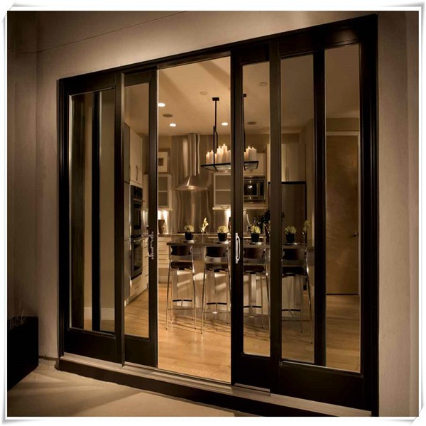 Exterior and interior aluminium sliding french doors buy for Aluminum sliding glass doors price