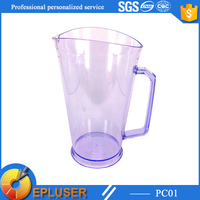PC01 Epluser Hot sale Best Quality glass look plastic cups 32oz Events Plastic Pitcher