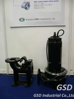 CP Submersible sump pump double channel impeller