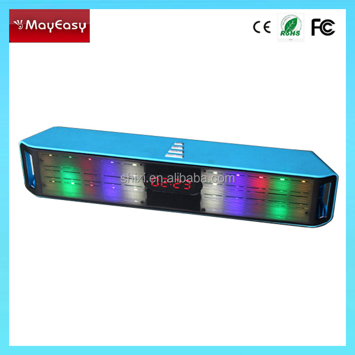 new products 2015 innovative mini bluetooth speaker with led light for mobile phone with CE,Rohs