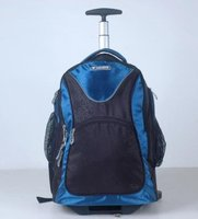 fashion travel trolley backpack scholl bag with trolley