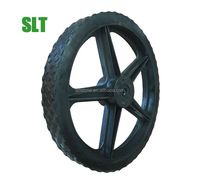 14 inch PVC wheel with PP rim for golf cart club car buggy