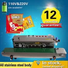 FRM-980 Automatic Continuous inflation Nitrogen film sealing machine,good sealer