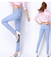 2015 Hot Sale Wholesale Sexy Skinny Girls Tight Jeans,ladies trouser cutting