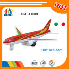 18CM pull back diecast aircraft model