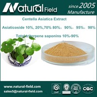 ISO manufacturer natural centell asiatica extract asiaticoside 90%