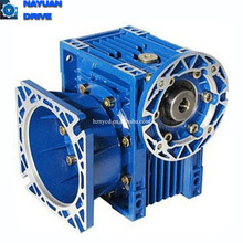 Industrial transmission equipment small worm reduction gearbox 50:1