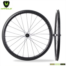 High Quality 100% 18K Carbon Fiber 18K Kevlar Tubular 40mm Carbon Road Wheelset cheap Bicycle Wheels