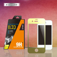 color screen protector for iphone 4 with design and unique package free sample to test