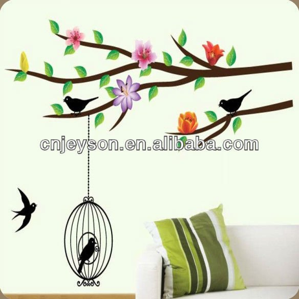 Non-toxic wall stickers home decor decal art