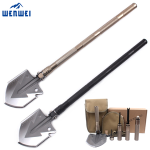 Wholesale multi purpose military folding shovel for outdoor camping