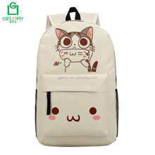 Wholesale top quality waterpoof polyester fabric Cheap Fashion Students School Bag