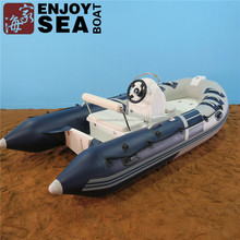 Rigid RIB inflatable fiberglass boats hulls fiberglass inflatable boat small speed boat