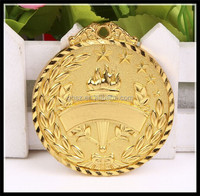 Custom 3d model zinc alloy olympic gold medals for sale