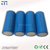 Wholesale rechargeable Lithium ion Phosphate LiFePO4 IFR26650 3.2V 3200mAh Cell 2000 Cycles 3C Rate