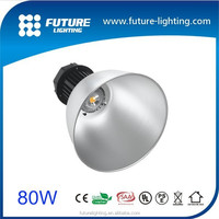 Shenzhen warehouse industrial high bay lighting 70w 80w led high bay light