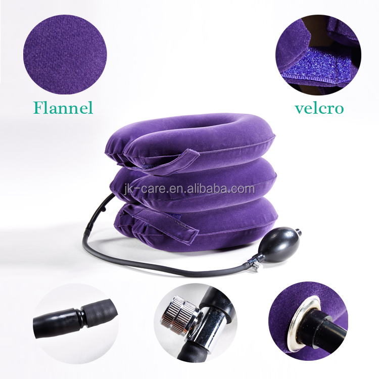Neck cervical care essential goods Air pump neck brace / stiff neck Cervical retractor / cervical traction