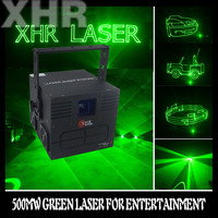 500mw Green Animation Laser Lighting Magic Show Equipment Stage Laser Light