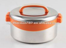 Hot and cold food container with luxury design