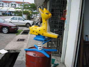 FRP toy (deer)