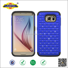 2016 colorful diamond cover blingbling phone back cover case for Samsung S7,for Samsung galaxy S7 case -----laudtec
