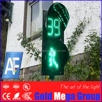 Brightness Pedestrian LED Traffic Signal Light /flashing warning signal lamp