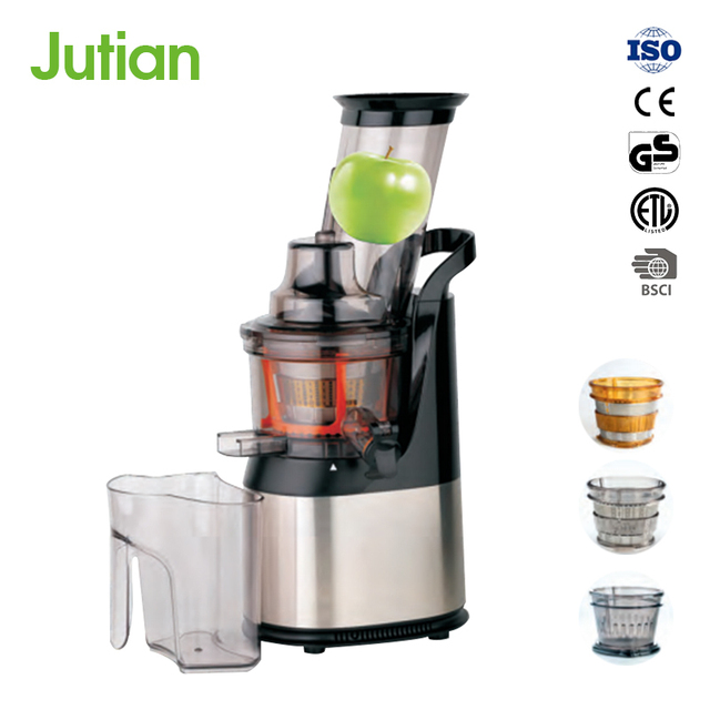 New Designed Korea Stainless Steel Single Gear Slow vegetable commercial kitchen appliance cold press juicer