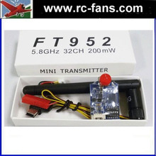 FT952 5.8ghz 200mw 40 channels Mini FPV Racing Video Transmitter RP-SMA Quadcopter