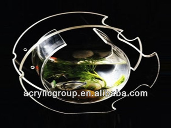 Manufacturer supplies exquisite custom acrylic fish tank
