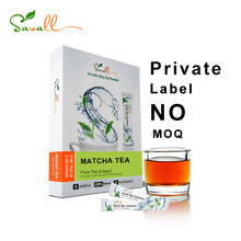 Savall private label Free samplee Matcha green tea