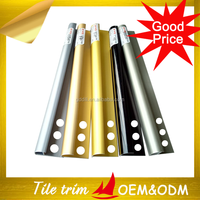 Polished Aluminum Corner Edge Tile Trim