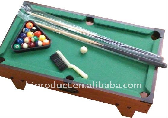The MDF custom kids mini billiard table/pool table