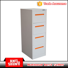 EAS-002-4D durable steel narrow corner 4 drawer cabinet for sale