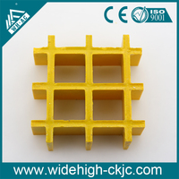 Plastic grate / fiberglass grating / plastic lighting grids
