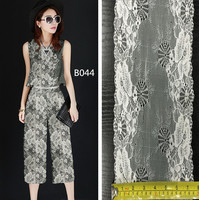 Double sided scolloped spandex nylon stretch bulk lace trim for garment accessories
