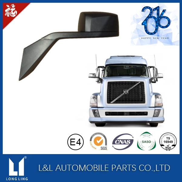 82361059/82361058 Chrome Aero Hood Mirror For volvo truck VNL