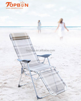 lightweight folding beach lounge chair, TB2004B ( Alu tube)